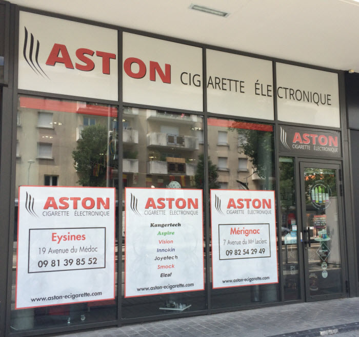 Boutique ASTON Cigarette electronique MERIGNAC