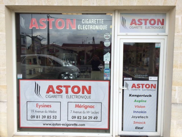 Boutique ASTON Cigarette electronique EYSINES