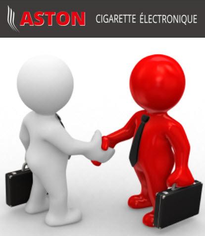 Partenariat ASTON Ecigarette