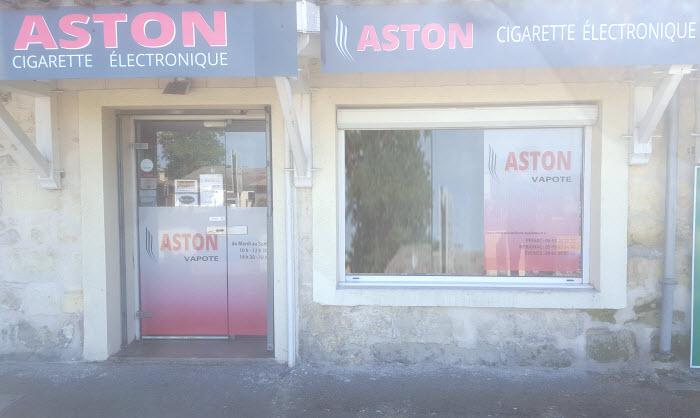 Boutique e-cigarette ASTON Vapote TRESSES