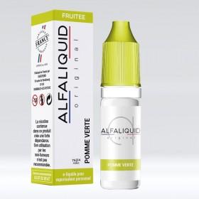 E-liquide Saveur Pomme Verte ALFALIQUID