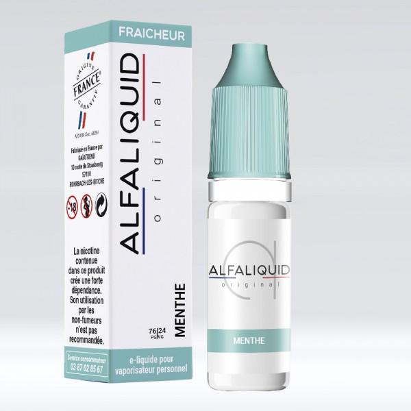 E-liquide Saveur Menthe ALFALIQUID