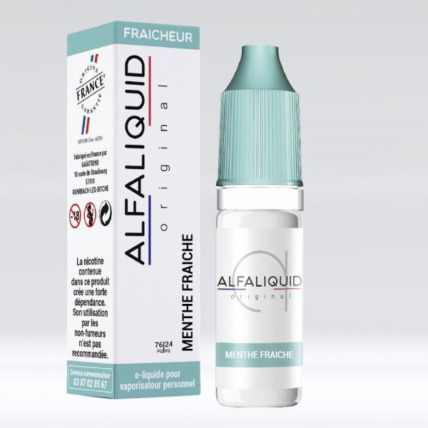 E-liquide Saveur Menthe Fraiche ALFALIQUID
