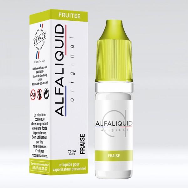 E-liquide Saveur Fraise ALFALIQUID