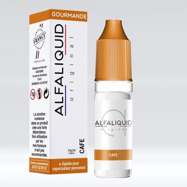 E-liquide Saveur Café ALFALIQUID