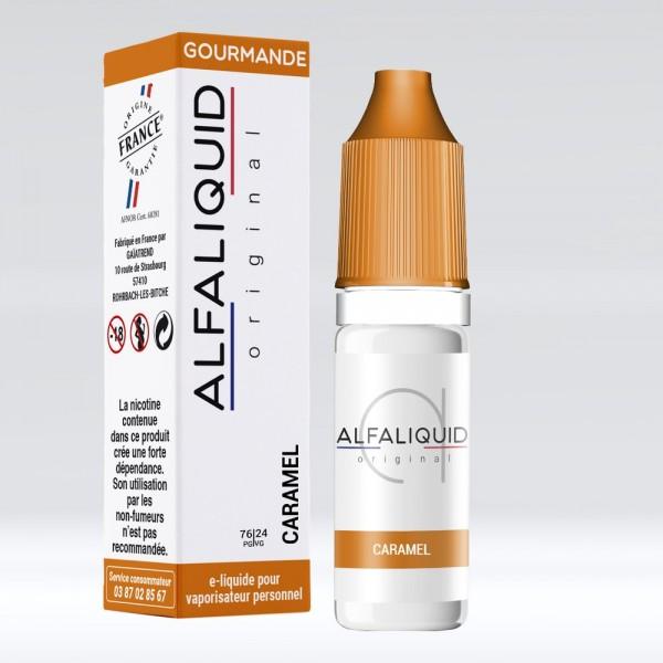 E-liquide Saveur Caramel ALFALIQUID