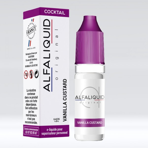 E-liquide Saveur Vanille ALFALIQUID