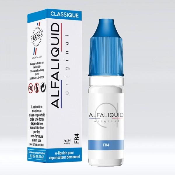 E-liquide Saveur Tabac FR4 ALFALIQUID
