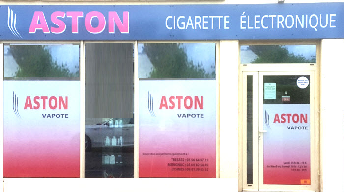 Boutique  ASTON Vapote Pessac
